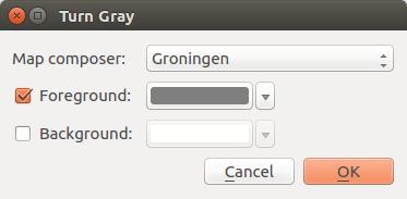 Turn Gray dialog